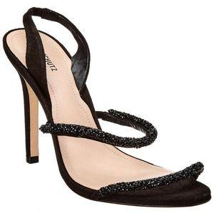 SCHUTZ Allana Crystal-Embellished Heels